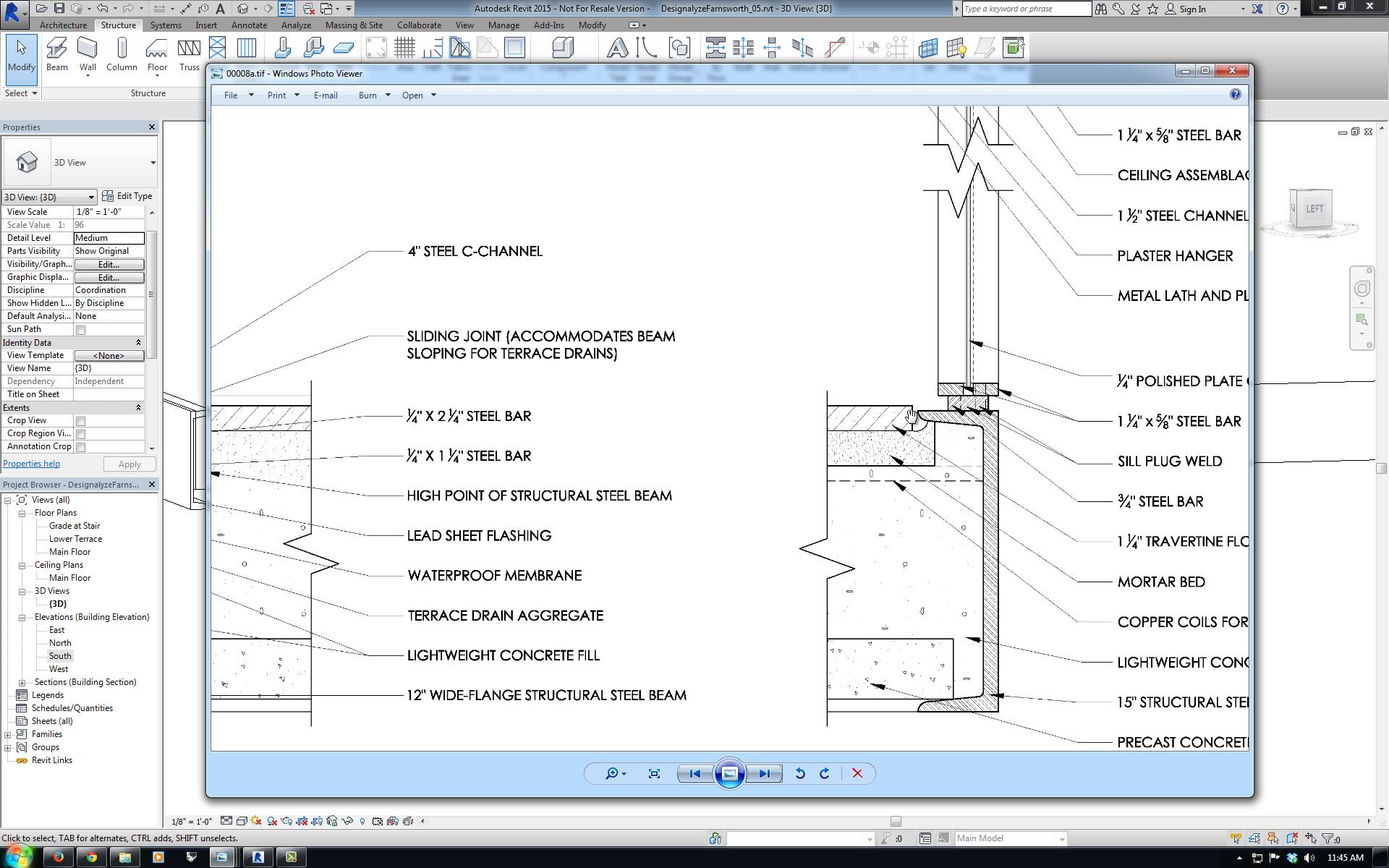 Revit Case Study: Farnsworth House   Designalyze